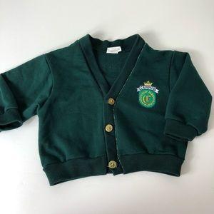 Vintage Toddler Baby Cardigan SweatShirt 838